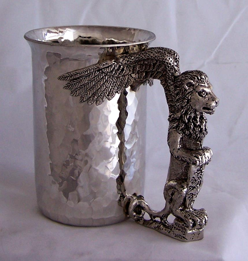 Lion Winged Stein
