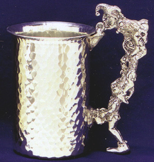 Jester Small Pewter Stein