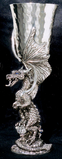 Crystal Dragon (Limited Edition) Pewter Goblet