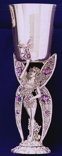 Fairy Pewter Goblet