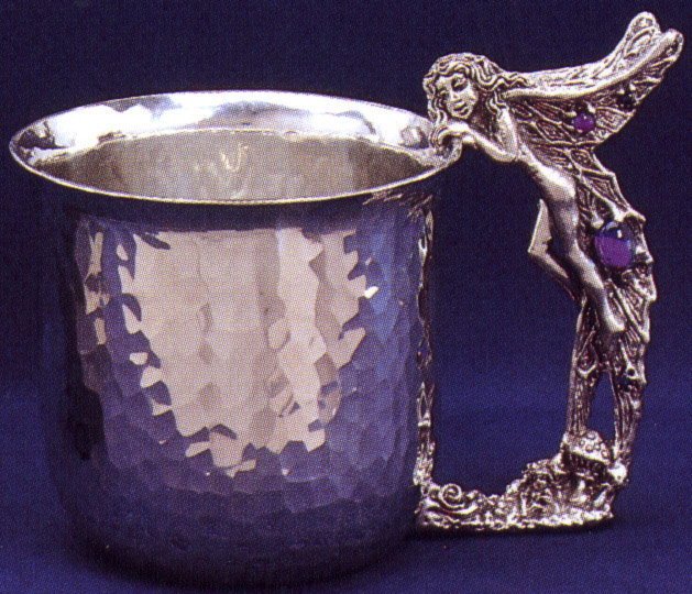 Fairy Pewter Cup