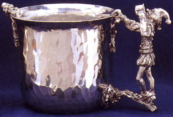 Fools Pewter Cup