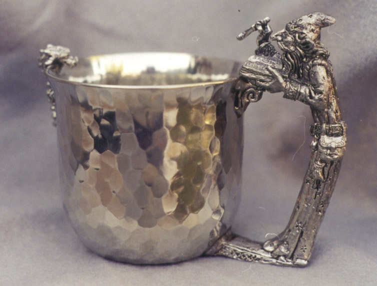 Wizard Pewter Cup