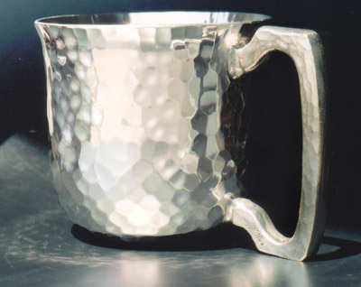 D Pewter Cup