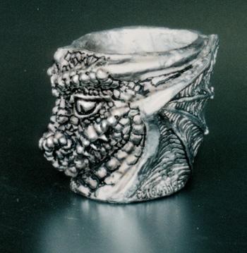 Dragon Pewter Shot Glass