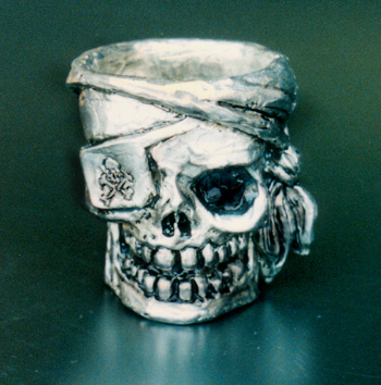Pirate Shot Glass (All Pewter)