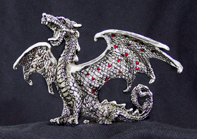 Dragon Roaring Limited Edition Sculpture