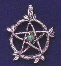Wicca Pewter Pendant