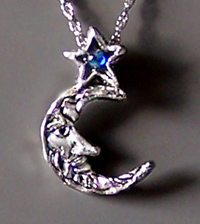 Moon Star pendant
