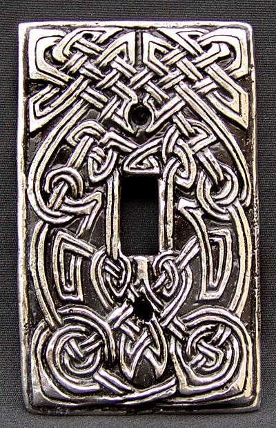 Celtic Hearth Switchplate
