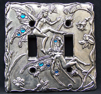 Double Fairy Switchplate