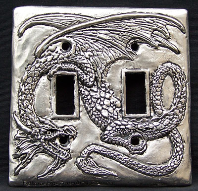 Dragon Double  Switchplate